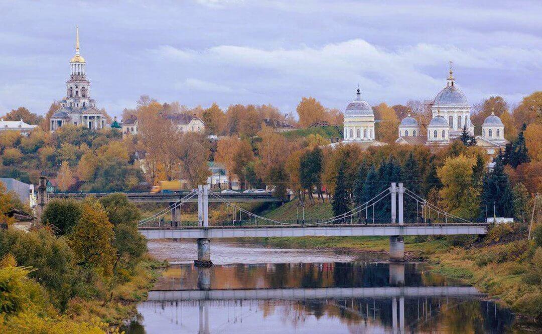 Мост через реку Тверца