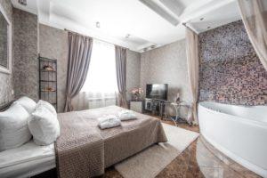 Гостиница Гравор с джакузи в Москве