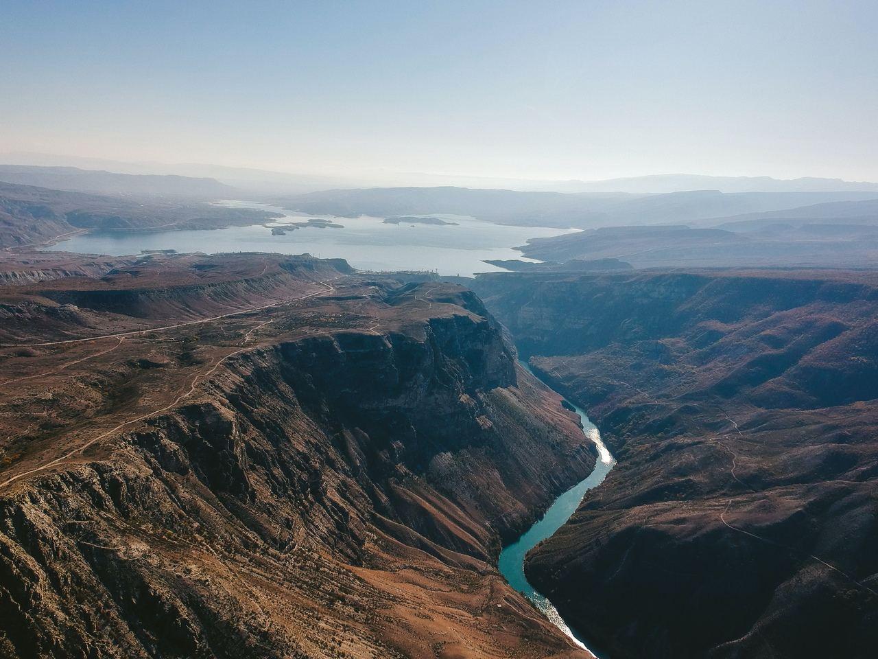 Сулакский Каньон - красивые места Дагестана